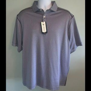 MWT Men's XL Cremieux Club 38 SS Polo Madison Blue